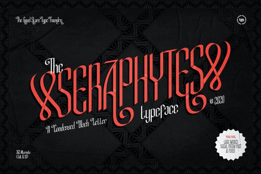 Seraphytes Typeface