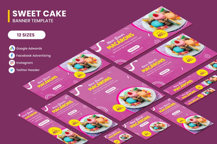 Thumbnail for Cake Banners Ads