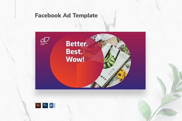 Cover Image For Advertising Agency Facebook Ad