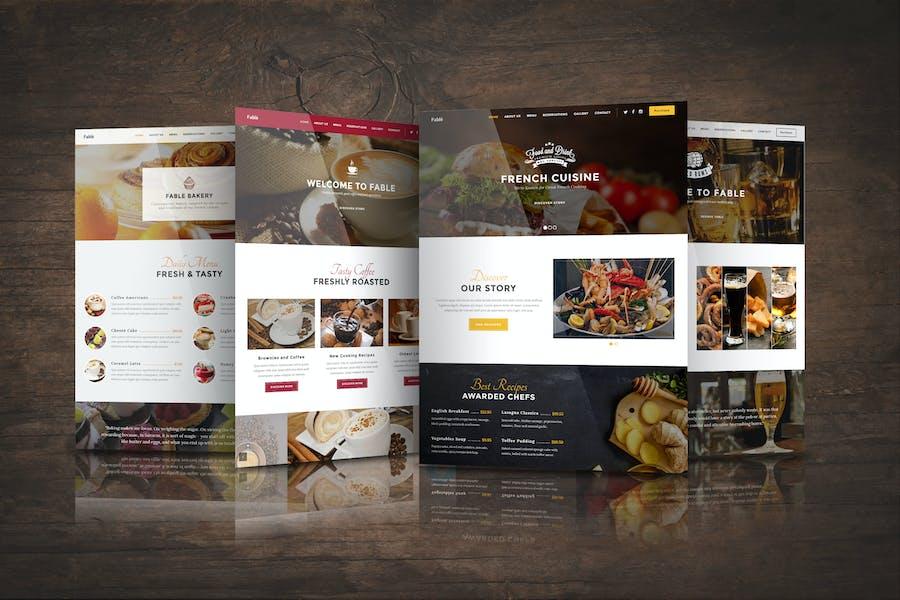 Fable - Bakery / Coffee / Pub / Restaurant Website