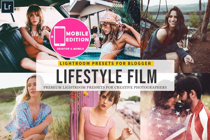 Thumbnail for Lifestyle Film mobile Lightroom Presets