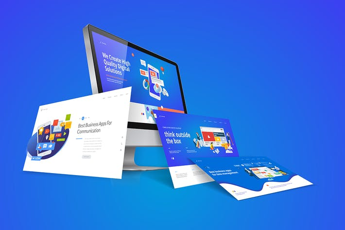 Thumbnail for Web Design Template