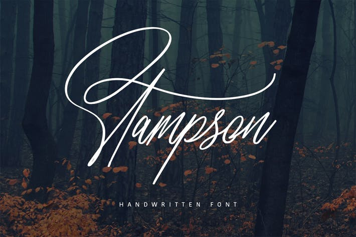 Thumbnail for Stampson Typeface