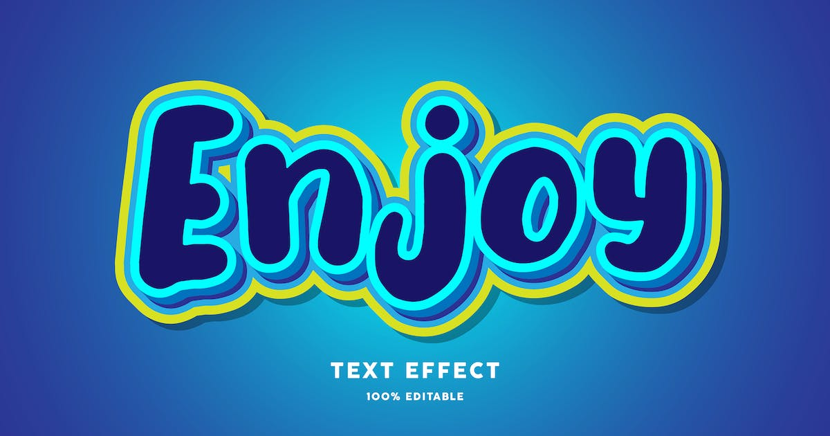 Download Enjoy text effect by wudelmbois
