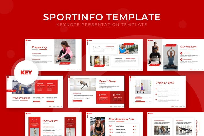 Thumbnail for Sportinfo- Keynote Template