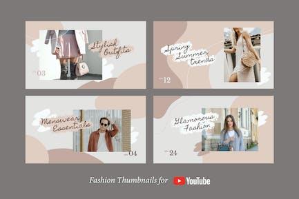 Fashion YouTube Thumbnails