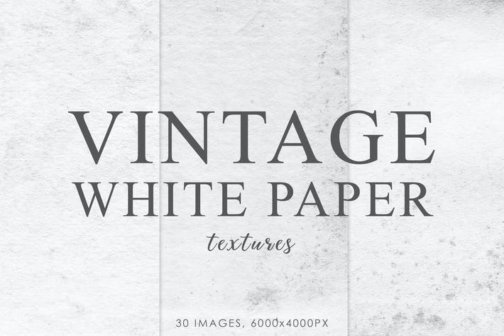 Thumbnail for White Vintage Paper Textures