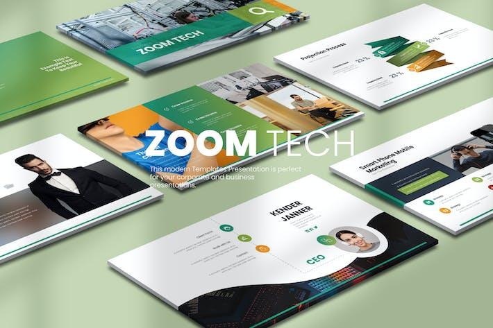 Thumbnail for Zoom Tech Google Slides