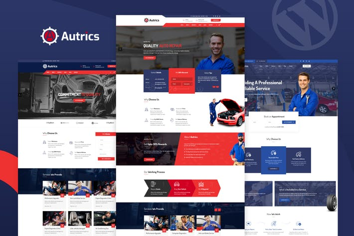 Thumbnail for Autrics | Car Services and Auto Mechanic WordPress