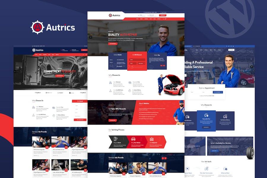 Autrics | Car Services and Auto Mechanic WordPress