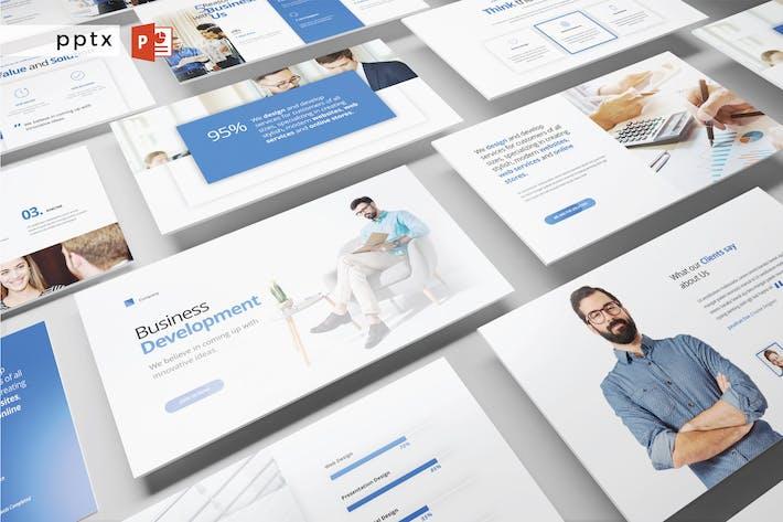 Thumbnail for Geschäftsentwicklung - Powerpoint V389