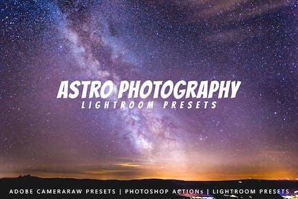 20 Astro Photography Lightroom Presets