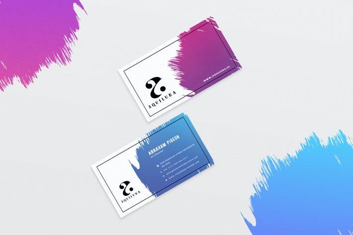 Thumbnail for Minimal Business Card Template-02