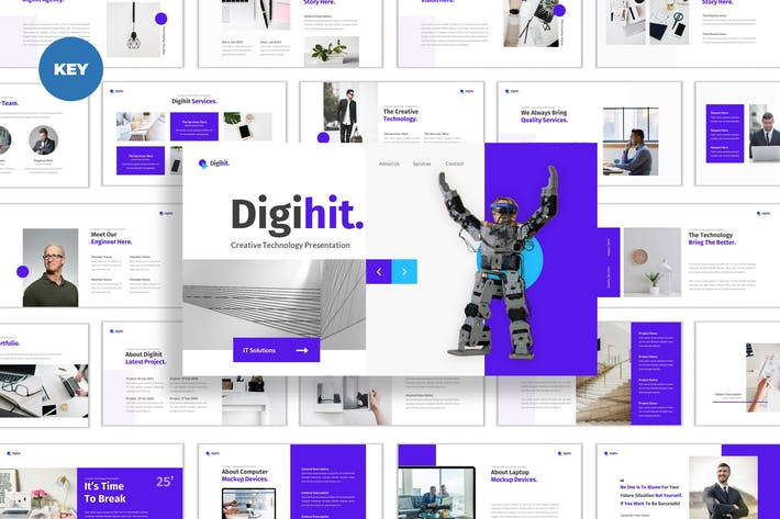 Thumbnail for Технологии Digihit Creative — Keynote