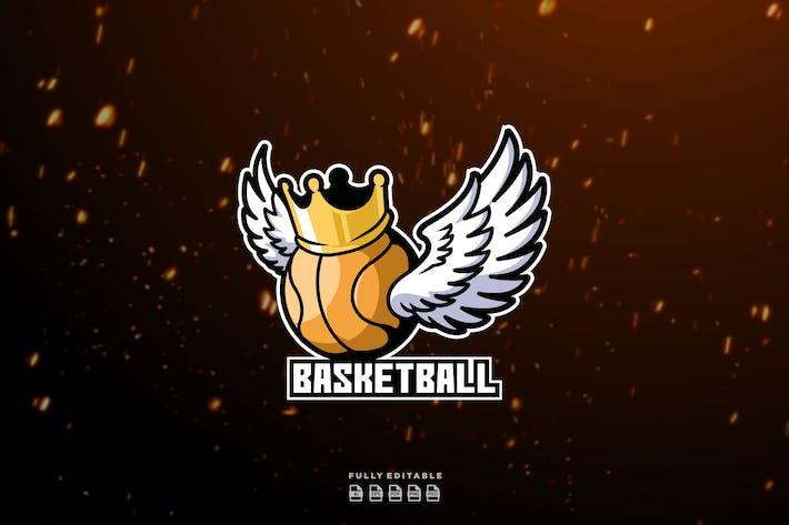 Basketball Winner Champion Logo