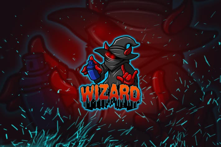 Thumbnail for Wizard - Esports & Mascot Logo YR