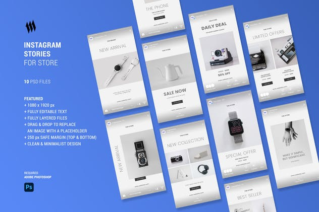 Instagram Stories For Store - product preview 0