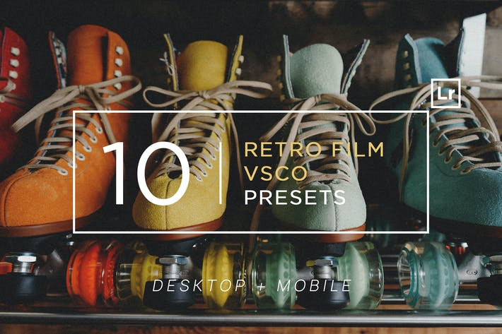 Thumbnail for 10 Retro Film VSCO Lightroom Presets