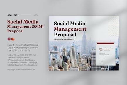 Social Media Management Proposal - Landscape