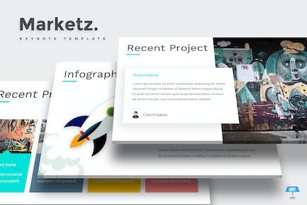 Marketz - Keynote Template
