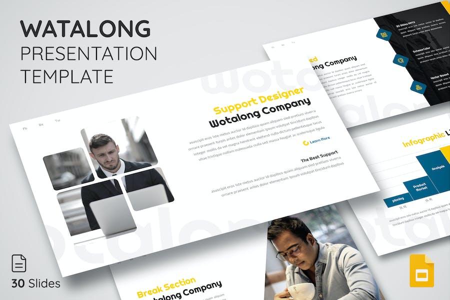 Watalong - Google Slides Presentation Template
