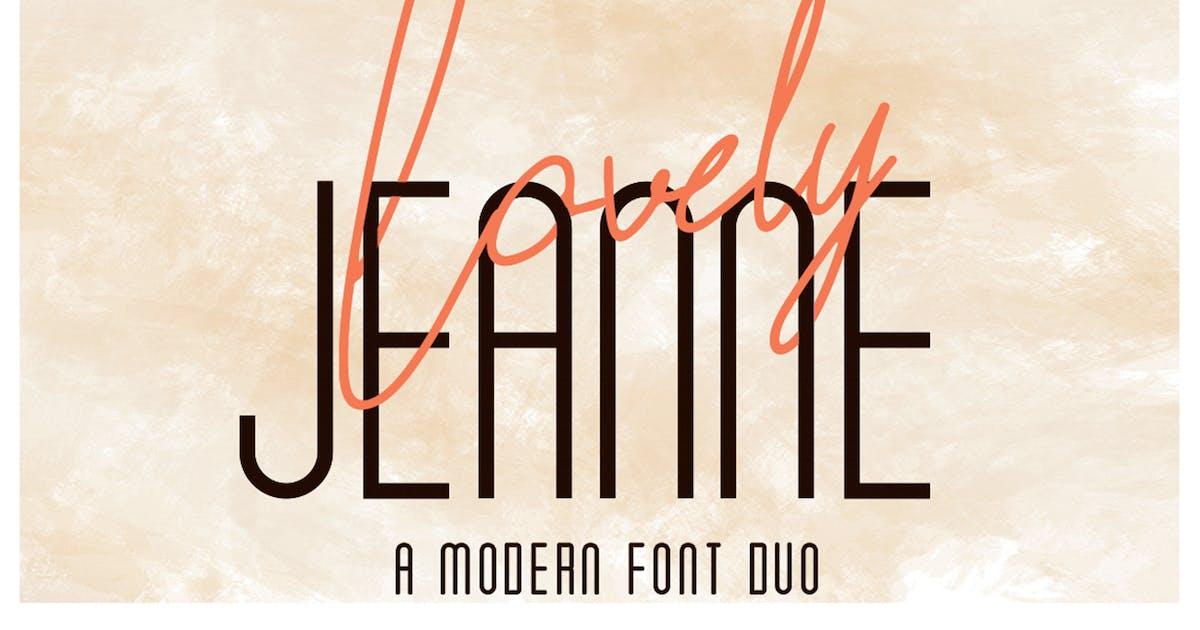 Download Lovely Jeanne - Script Font by Attype-Studio