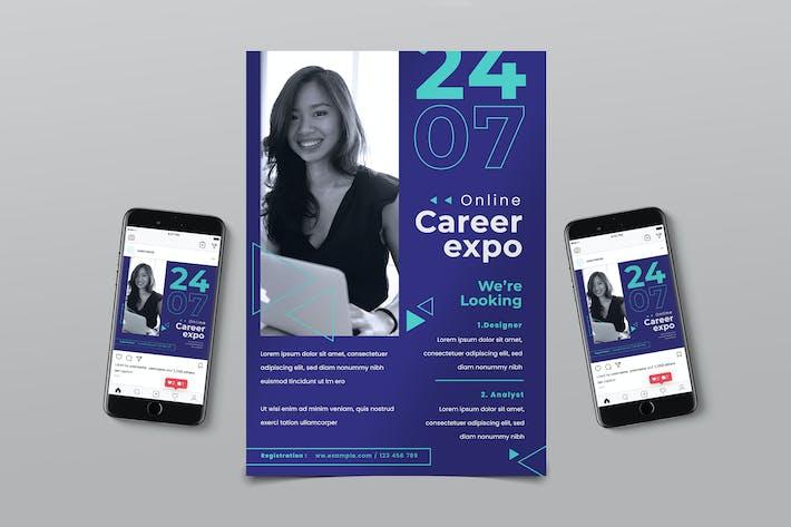 Thumbnail for Online Business Flyer
