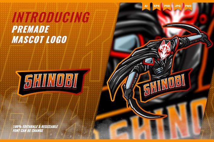 Shinobi Ninja - Mascot Esport Logo Template