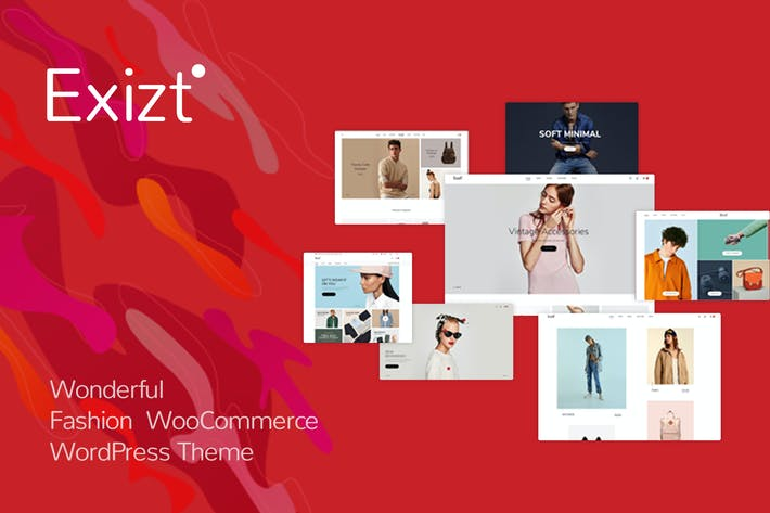 Thumbnail for Exizt - Fashion WooCommerce WordPress Theme