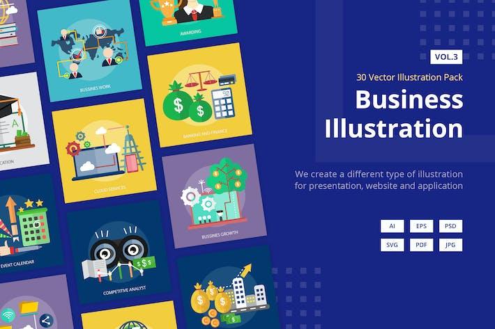 Thumbnail for Business Vektor Illustration Band 3