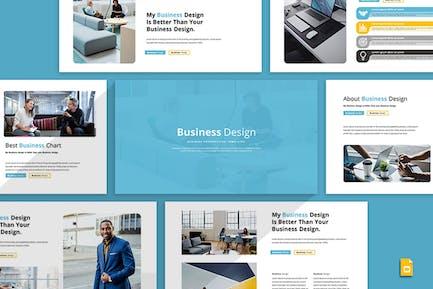 Business Design - Google Slides Template