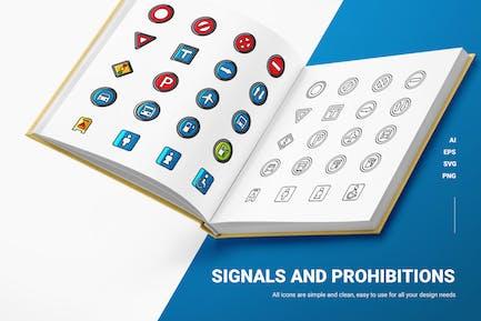 Signale & Progibitationen - Icons