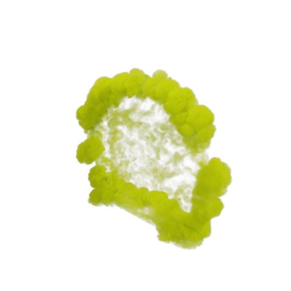 Yellow Smoke Blast