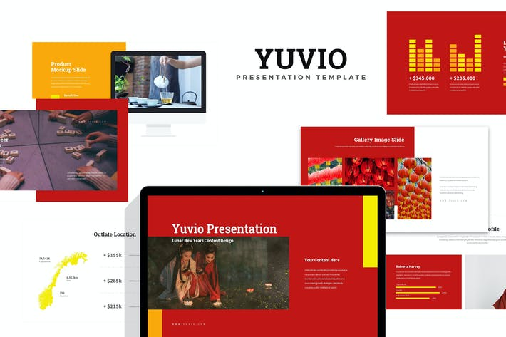 Thumbnail for Yuvio : Lunar New Year Festival Google Slides