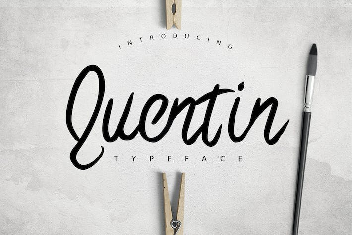 Thumbnail for Quentin Typeface