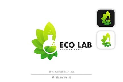 Eco Lab Gradient Logo