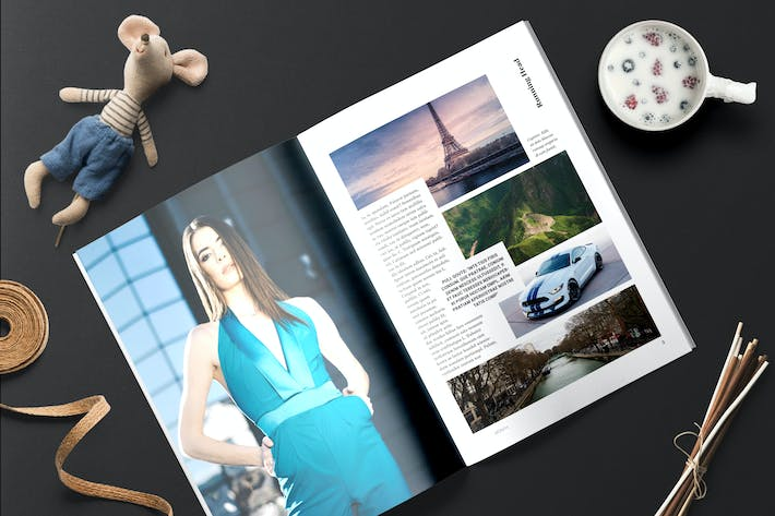 Thumbnail for Magazine Template 6 - TH
