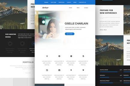 Artur - Responsive Email and Newsletter Template