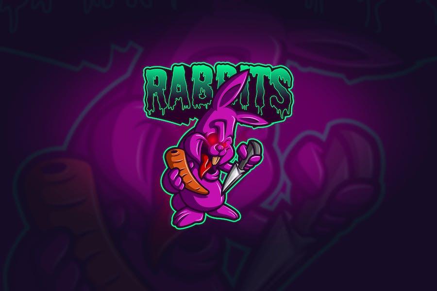 Rabbit - Mascot & Esport Logo