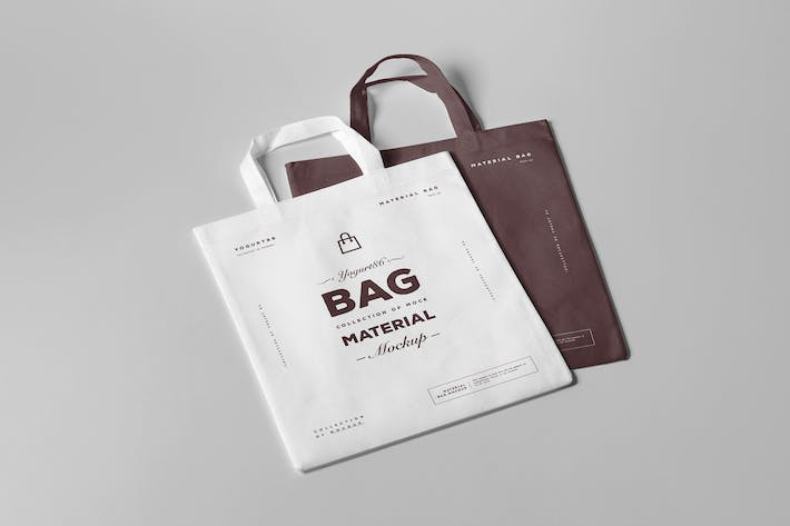 Thumbnail for Material Bag Mock-up