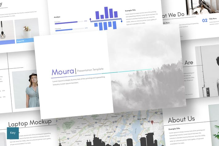 Thumbnail for Moura - Keynote Template