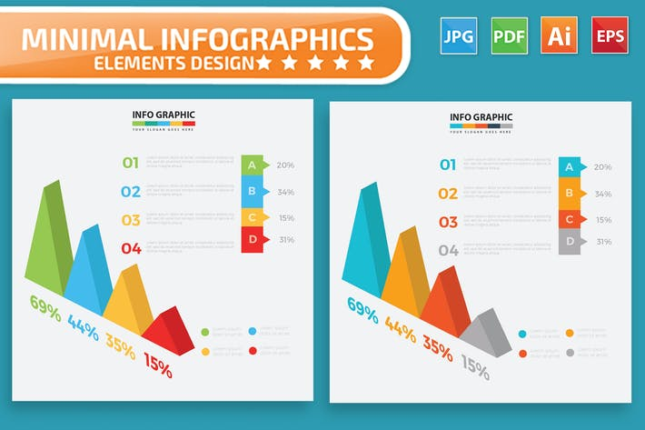 Thumbnail for Infographic Elements Design