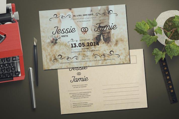 Thumbnail for Vintage Wedding Invitation