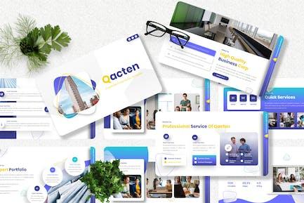 Qacten - Corporate Googleslide Template