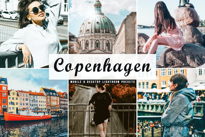 Thumbnail for Copenhagen Mobile & Desktop Lightroom Presets