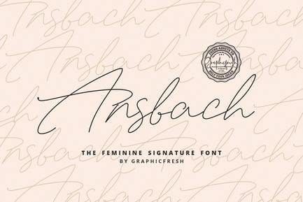 Ansbach | The Feminine Signature