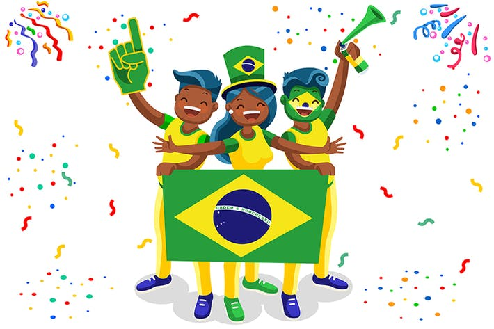 Thumbnail for Brazil Football Fans