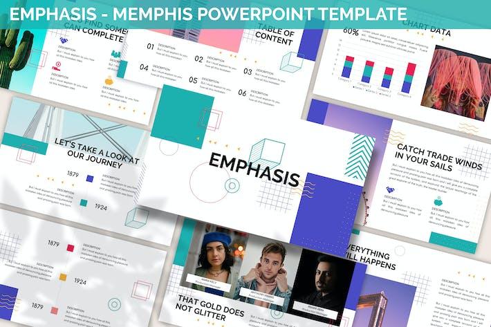Emphasis - Memphis Powerpoint Template