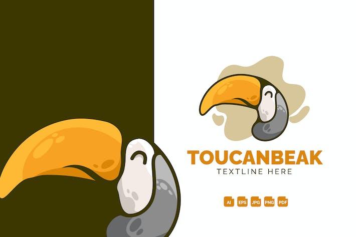 Thumbnail for Toucan Beak Modern Logo Design