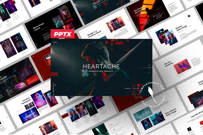 Heartache Creative Powerpoint